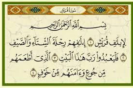 تفسير سورة قريش من خلال أحسن التفسير القرءان الكريم True Islam From Quran حقيقة الاسلام من القرآن